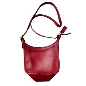 Vintage COACH Janice leather messenger bag purse